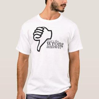 Wrong Answer T-Shirt