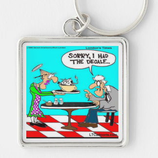Wrong Coffee Funny Cow Cartoon Gifts & Tees Keychains