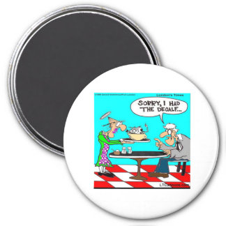 Wrong Coffee Funny Cow Cartoon Gifts & Tees Refrigerator Magnets