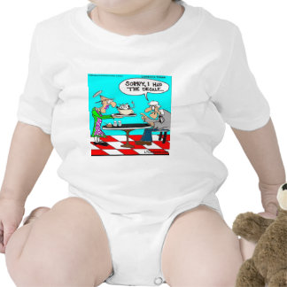 Wrong Coffee Funny Cow Cartoon Gifts & Tees Baby Bodysuits