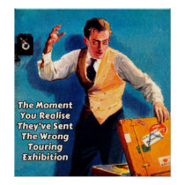 Wrong Exhibition - Museum Poster