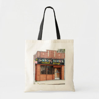 Wrong Number Canvas Bags