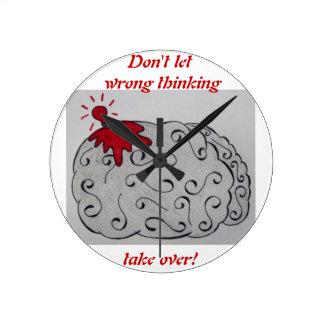 Wrong Thinking Clock