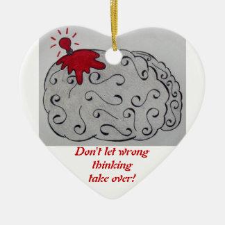 Wrong Thinking Ornament