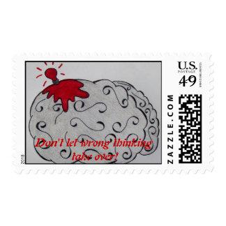 Wrong Thinking Stamp