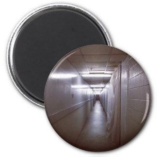Wrong turn corridor fridge magnet