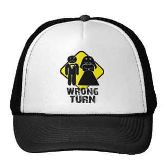 Wrong Turn Trucker Hat