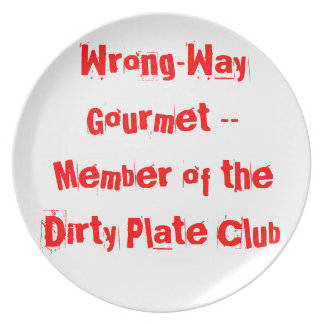 Wrong-Way Gourmet products from TroubleShooter Plate