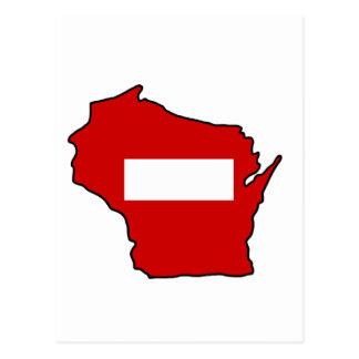 wrong way Wisconsin Postcard