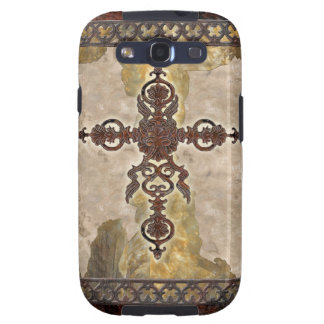 Wrought Iron Cross Galaxy S3 Cases