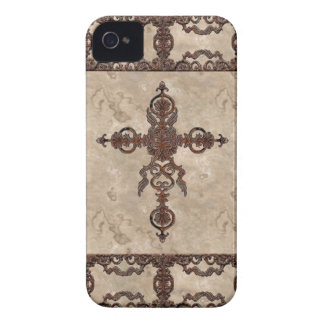 Wrought Iron Cross iPhone 4 Case-Mate Cases
