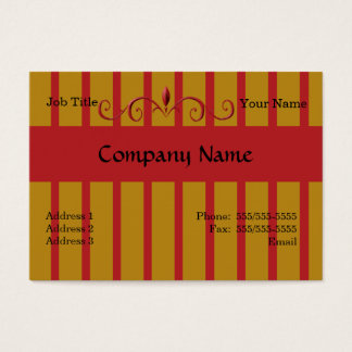 Wrought Iron Painted Fence Business Cards