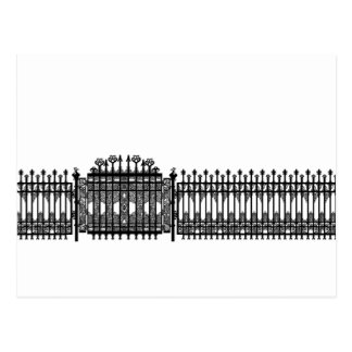 Wrought Iron Postcard