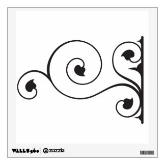 Wrought Iron Wall Graphic