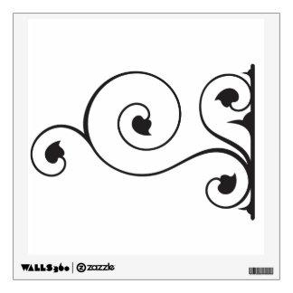 Wrought Iron Wall Sticker