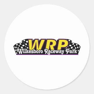 WRP CLASSIC ROUND STICKER
