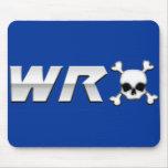 WRX con el cráneo Alfombrillas De Ratón