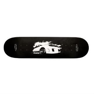 Wrx STI Rolling Shot with Subbie Love Logo Skateboard Deck