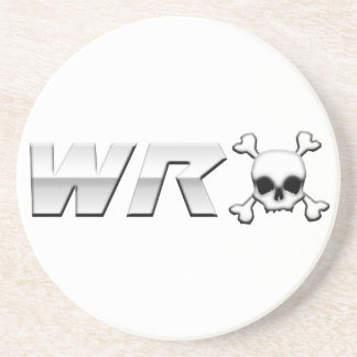 WRX with Scull Beverage Coaster