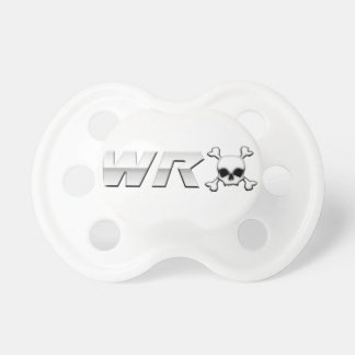 WRX with Scull BooginHead Pacifier