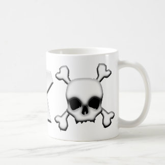 WRX with Scull Classic White Coffee Mug