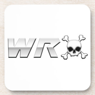 WRX with Scull Drink Coaster