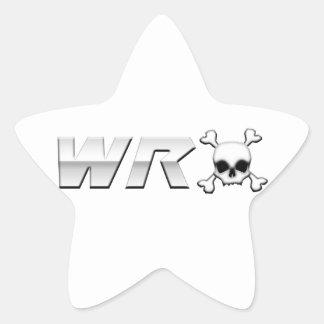WRX with Scull Star Sticker