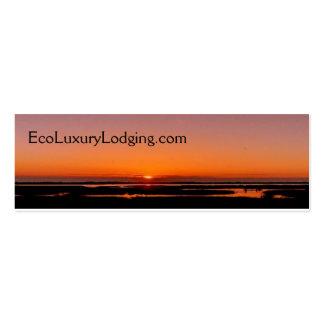 _wsb_keyvisual EcoLuxuryLodging com Tarjeta De Negocio
