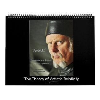 WSC_0021g, The Theory of Artistic Relativity, w... Wall Calendar