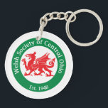 "WSCO Logo Keychain<br><div class=""desc"">Welsh Society of Central Ohio (WSCO) Logo on both sides of this keychain is the perfect accessory to remind you to celebrate your Welsh heritage every day!</div>"
