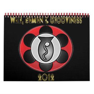 WSG 12 Month 2012 Calendar