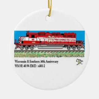 WSOR 4030 Circle ornament