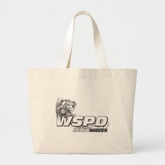 WSPD RADIO WAVES JUMBO TOTE BAG