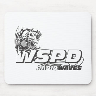 WSPD RADIO WAVES MOUSE PADS