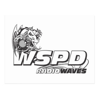 WSPD RADIO WAVES POSTCARD