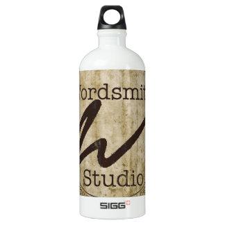 WSS Tan Logo Water Bottle