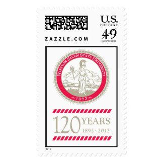WSSU Commemorative Anniversary Stamp