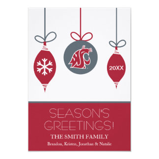 WSU Cougars Holiday Card