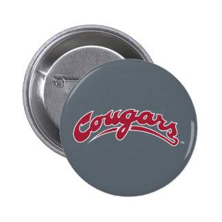 WSU Cougars Logo Pinback Button