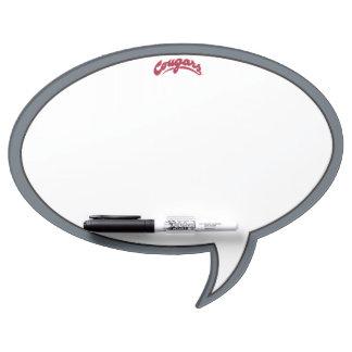 WSU Cougars Logo Dry Erase Board