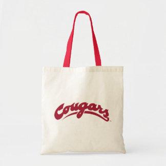 WSU Cougars Logo Tote Bag