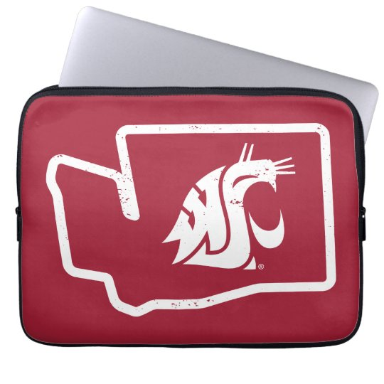Washington State Messenger Bag WSU COUGARS Laptop Computer Bag
