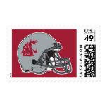 WSU Helmet Postage Stamp
