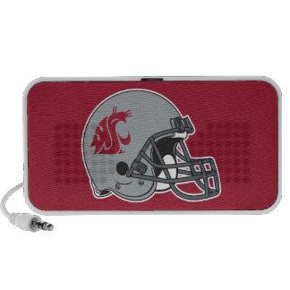 WSU Helmet Notebook Speakers