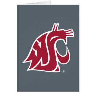 WSU Primary Mark - Red Cards