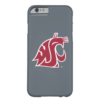 WSU Primary Mark - Red Barely There iPhone 6 Case