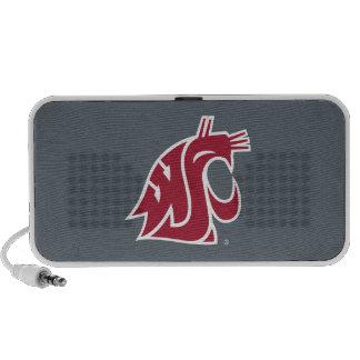 WSU Primary Mark - Red PC Speakers