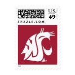 WSU Primary Mark - White Stamp