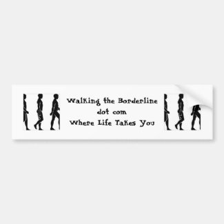 WTB Silhouette Bumper Sticker: Direct Blog Support