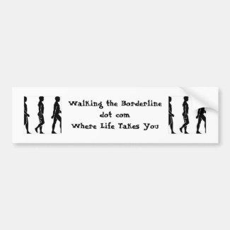 WTB Silhouette Bumper Sticker: Direct Blog Support